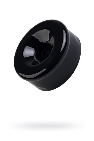 Насадка на помпу Sexus Men, TPE, чёрный, 7,5 см