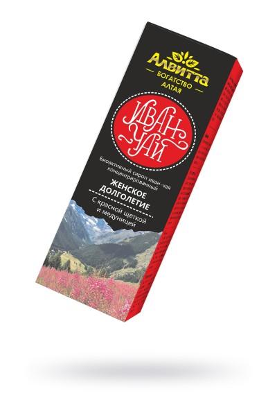"""Сироп иван-чая с красной щёткой и медуницей Женское долголетие"""" 200 мл"""""""