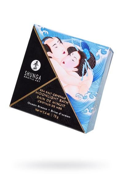 Соль Мёртвого моря Shunga Moonlight Bath Ocean Breeze с лечебными свойствами, 75 г