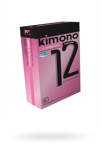 Презервативы КИМОНО с ароматом сакуры № 12, 1 шт.