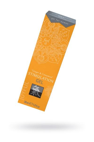 Интимный гель STIMULATION GEL Ginger & CinnamonL 30 мл.