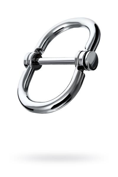 Наручники в форме восьмерки средние, TOYFA Metal,серебр.