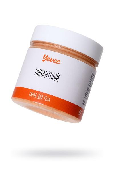 Скраб для тела Yovee by Toyfa Романтическое свидание «Пикантный», с ароматом шоколада и апельсина, 200 гр