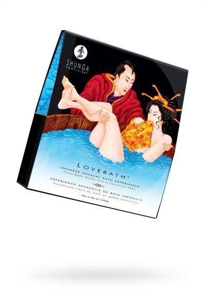 ТЕСТЕР Гель для ванны Shunga «Океан соблазнов», голубой, 650 г