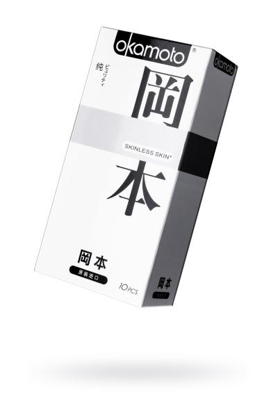 Презервативы Окамото серия Skinless Skin  Puriti №10 Сверх-тонкие, сверх-чувствительные