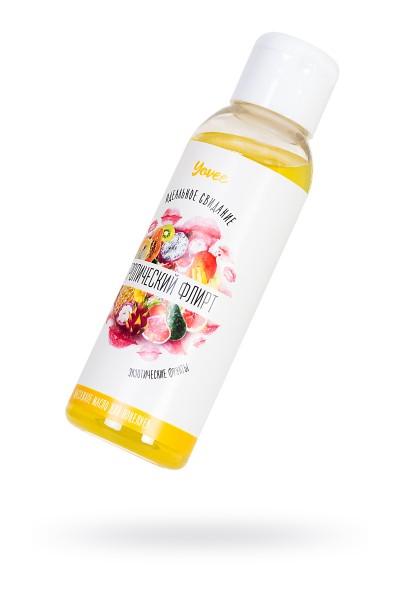 Массажное масло для поцелуев Yovee by Toyfa «Тропический флирт» со вкусом экзотических фруктов,100 м