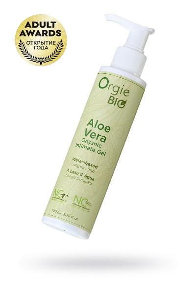 Органический интимный гель ORGIE Bio Aloe Vera с ароматом Алое Вера, 100 мл