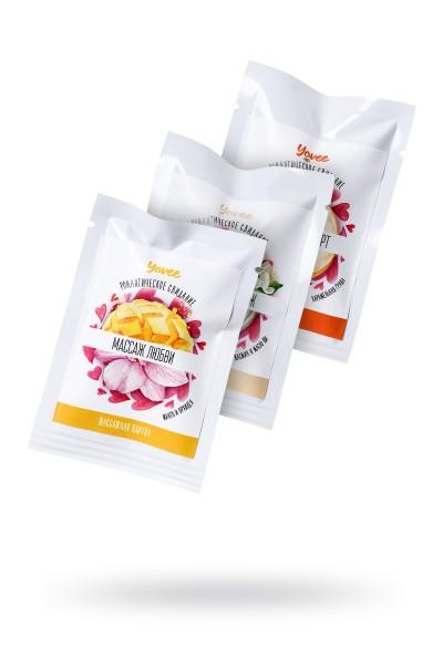 Набор плиток для массажа Yovee by Toyfa Роматическое свидание, 3 аромата по 10 гр.
